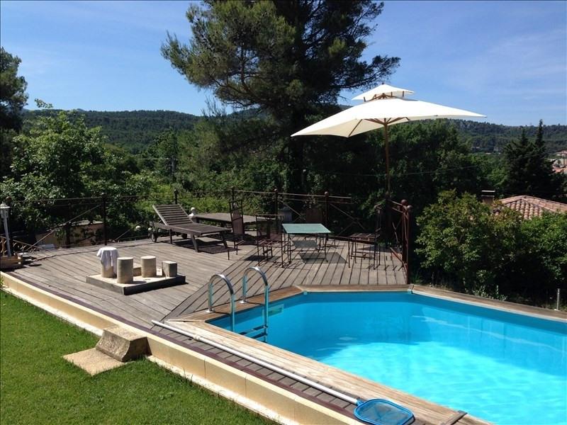 Deluxe sale house / villa Simiane collongue 590000€ - Picture 2