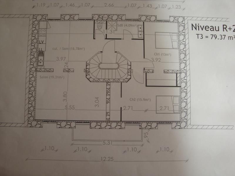 Rental apartment Perpignan 680€ CC - Picture 1