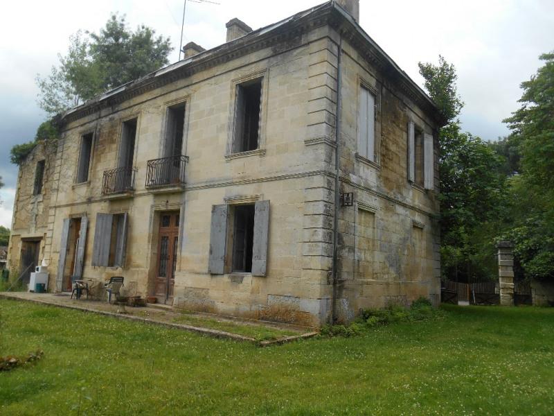 Secteur LA BREDE Maison ancienne à rénover bord de Garonne
