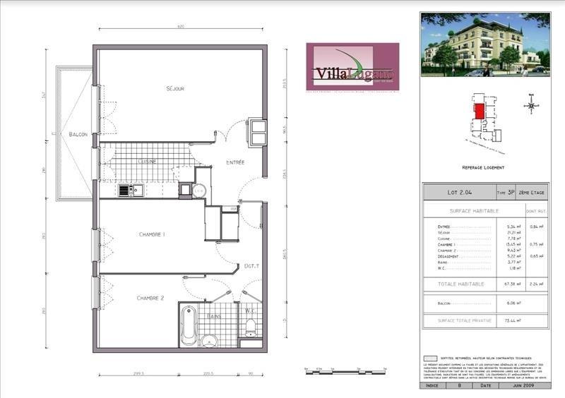 Location appartement Lagny sur marne 1000€ CC - Photo 1