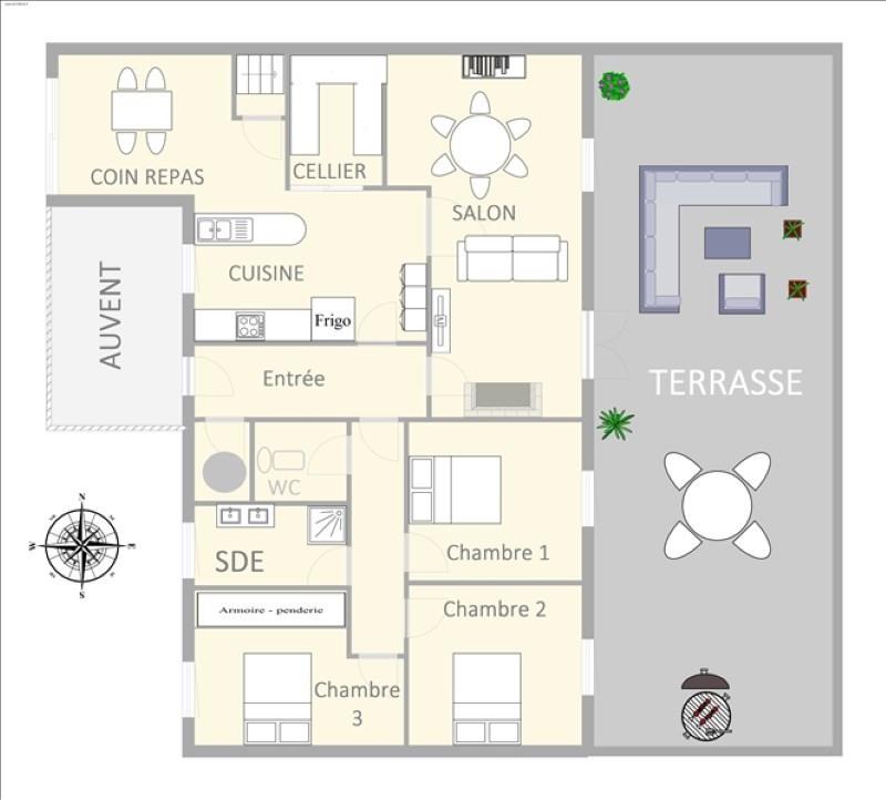 Vente maison / villa Fleac 179900€ - Photo 5