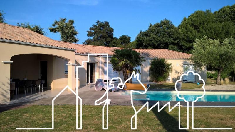 Vente maison / villa Nieul le dolent 328280€ - Photo 2