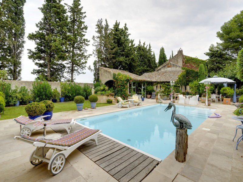 Immobile residenziali di prestigio casa Saint-rémy-de-provence 1768000€ - Fotografia 6
