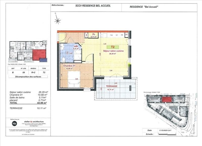 Sale apartment Bourgoin jallieu 118500€ - Picture 4