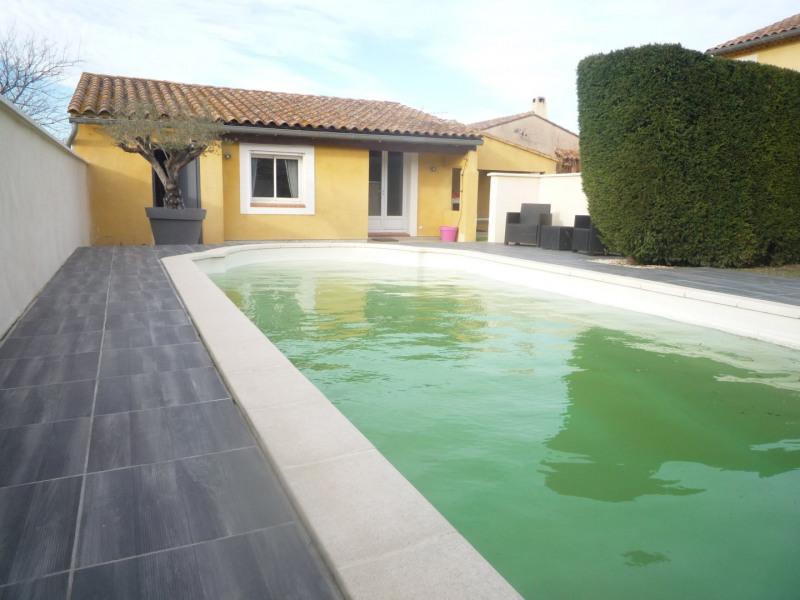 Sale house / villa Courthezon 367500€ - Picture 2