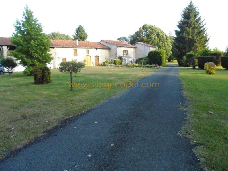 Vitalicio  casa La chapelle-grésignac 122300€ - Fotografía 3