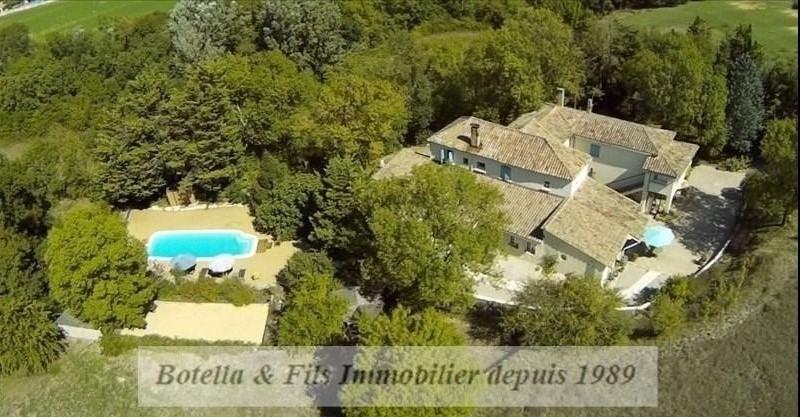 Vente de prestige maison / villa Barjac 526000€ - Photo 1