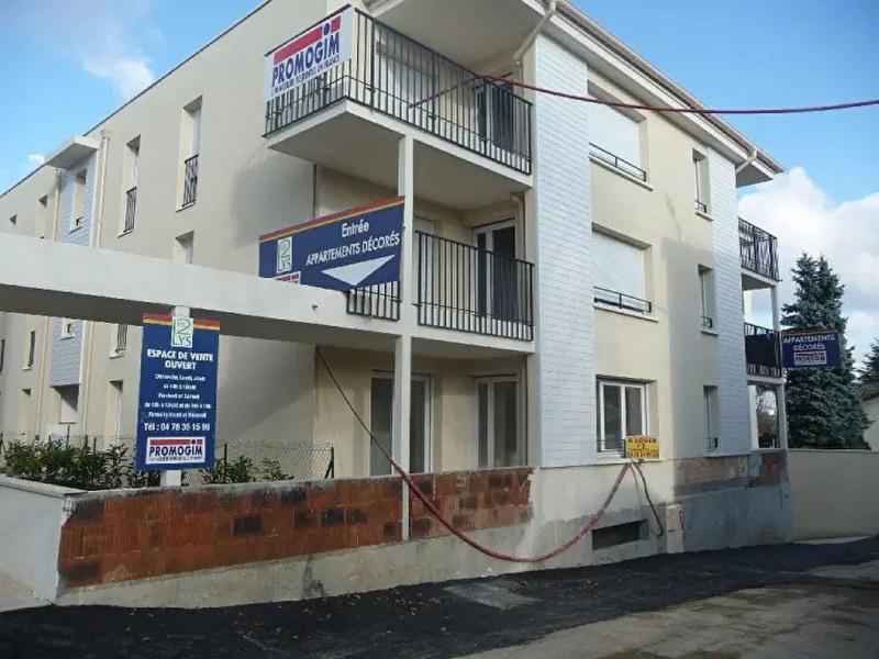 Collonges - Appartement récent T3 en RDJ