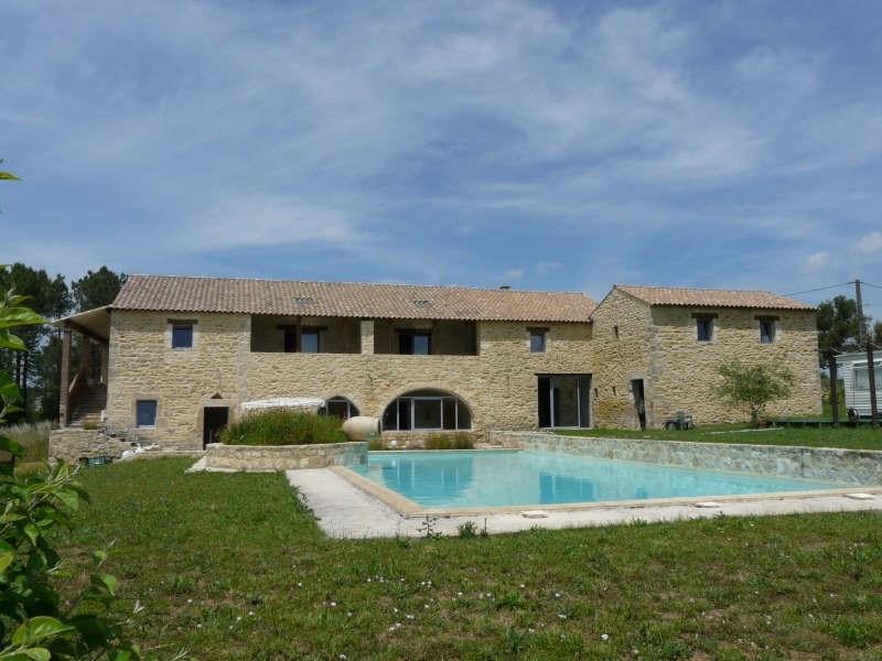 Deluxe sale house / villa Barjac 695000€ - Picture 1