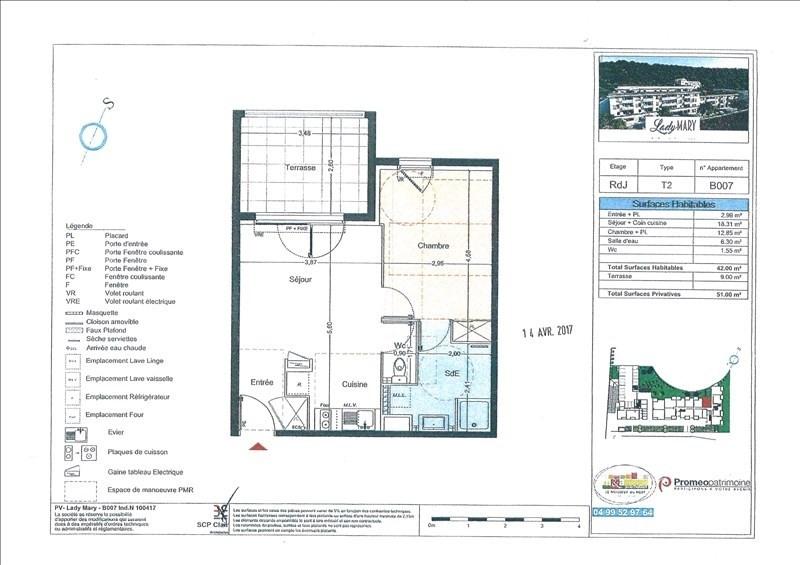 Rental apartment Sete 554€ CC - Picture 6