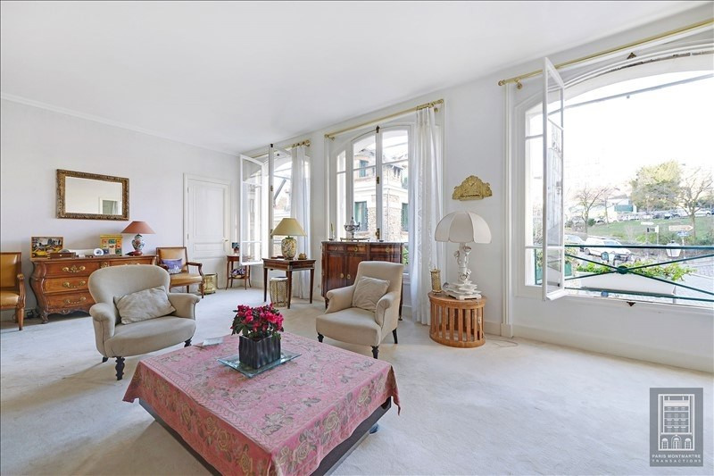Rental apartment Paris 18ème 4800€ CC - Picture 4