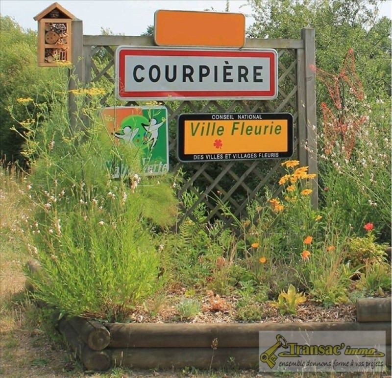 Vente terrain Courpiere 38 500€ - Photo 1