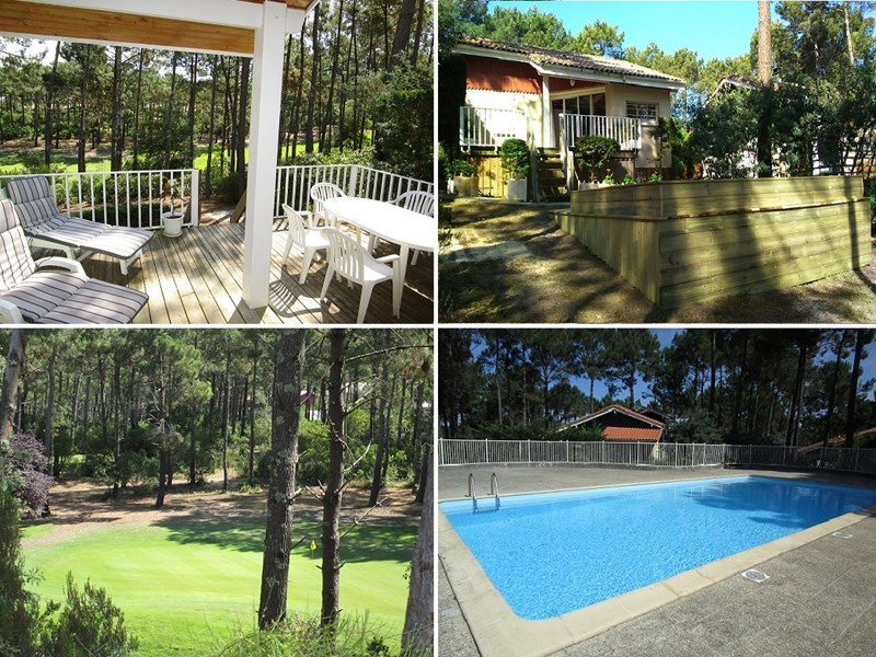Vacation rental house / villa Lacanau-ocean 299€ - Picture 1