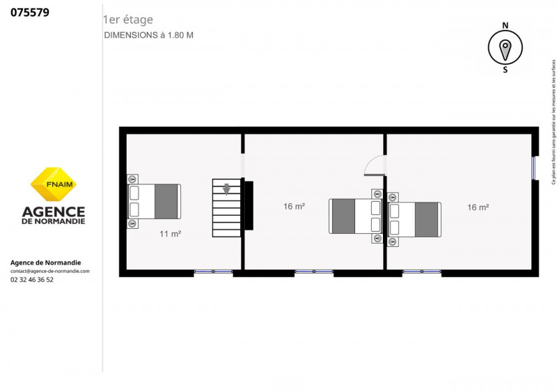Vente maison / villa Broglie 75000€ - Photo 6