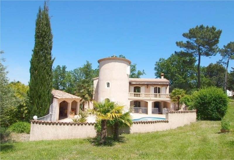 Verkoop van prestige  huis Labeaume 499200€ - Foto 2