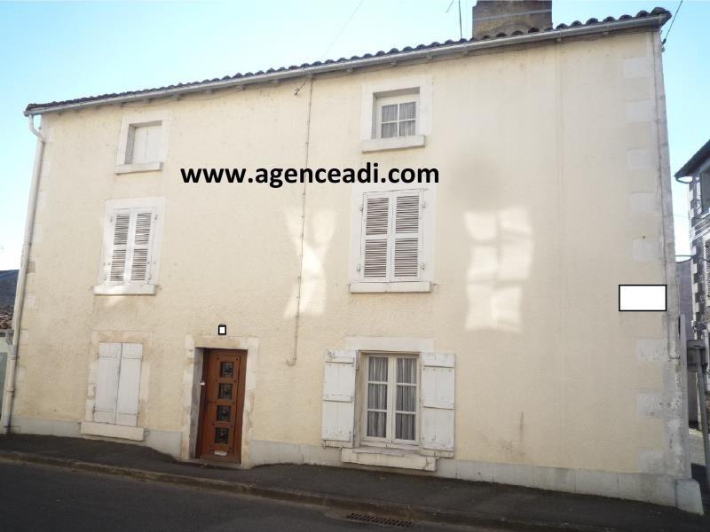 Vente maison / villa St maixent l ecole 52800€ - Photo 1