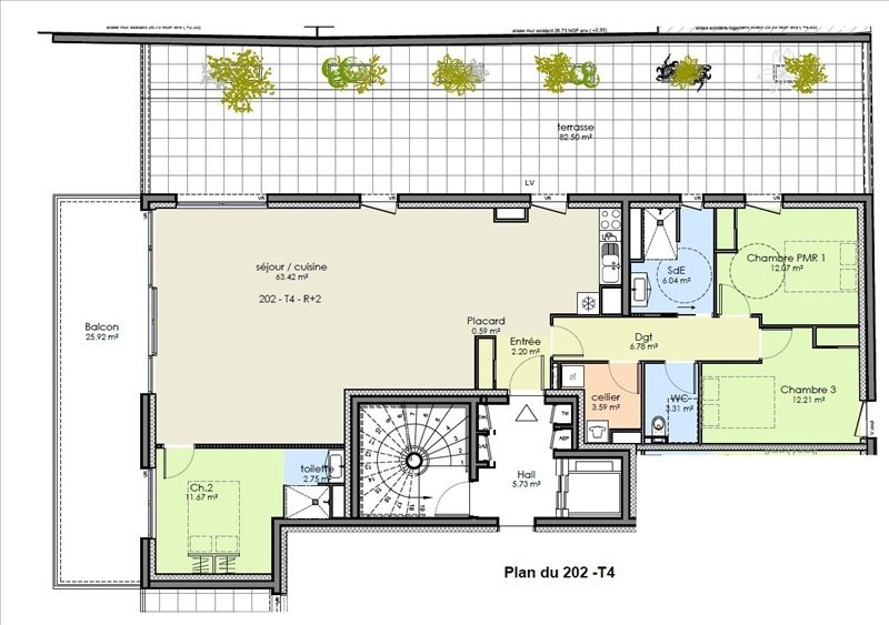 Vente appartement Niort 240000€ - Photo 2