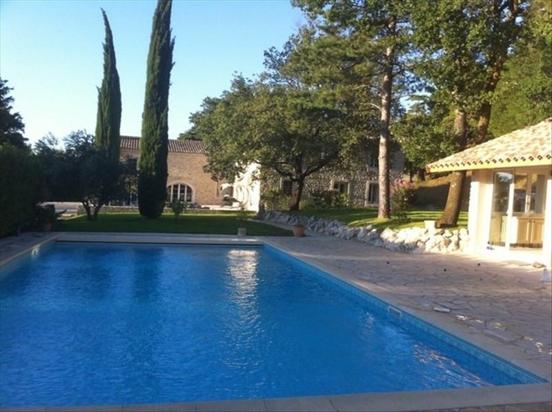 Vente de prestige maison / villa L'est de montelimar 1035000€ - Photo 1