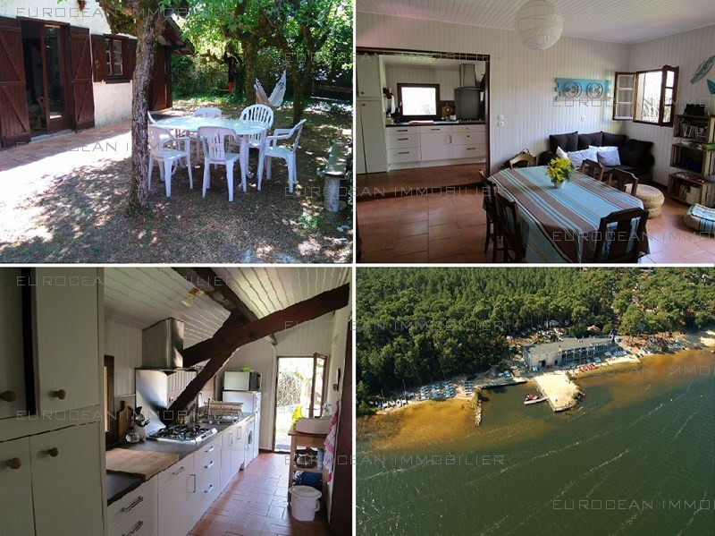 Vacation rental house / villa Lacanau 545€ - Picture 1
