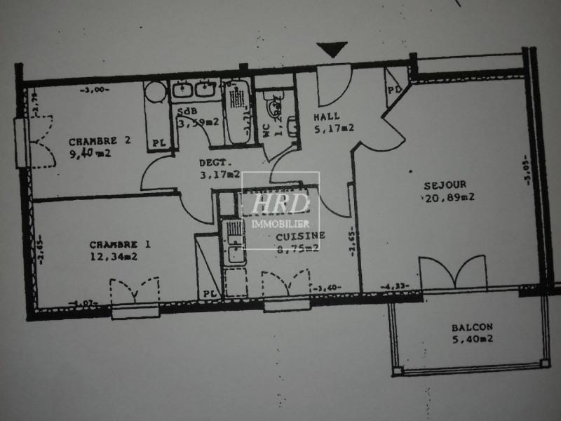 Vente appartement Strasbourg 210000€ - Photo 12