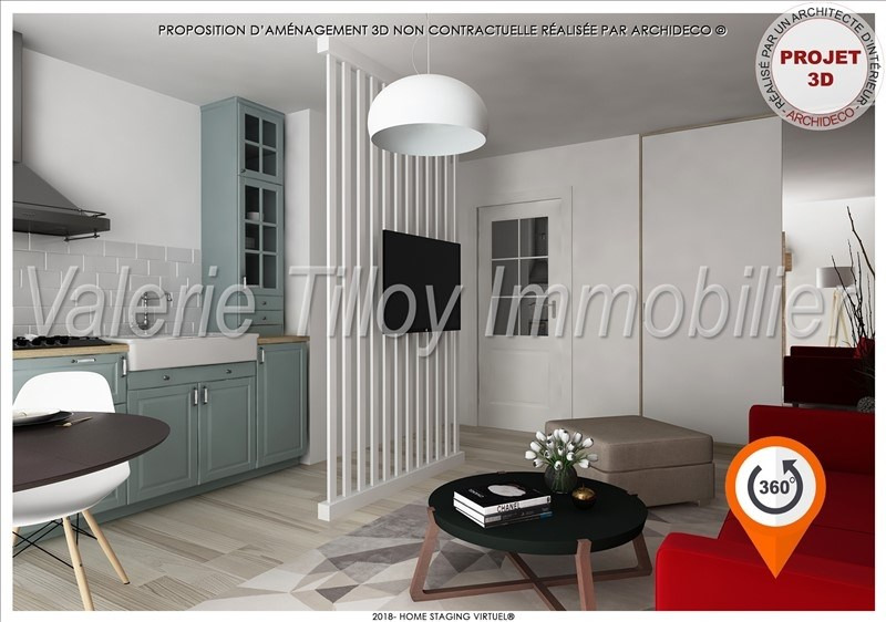 Investment property apartment Noyal chatillon sur seiche 105 000€ - Picture 2