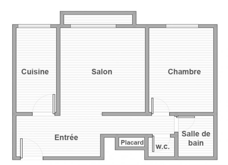 Vente appartement Paris 13ème 514500€ - Photo 9