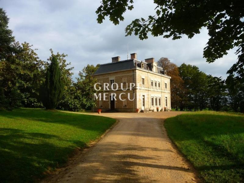 Deluxe sale house / villa Pont de vaux 610000€ - Picture 1