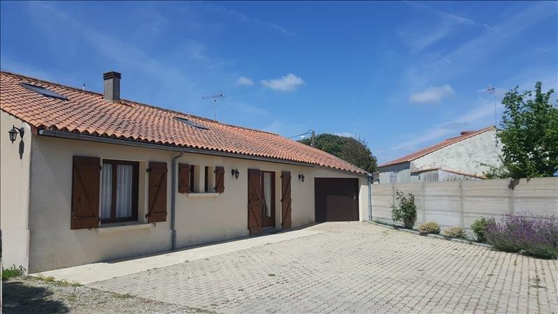 Sale house / villa St vincent sur jard 164320€ - Picture 2