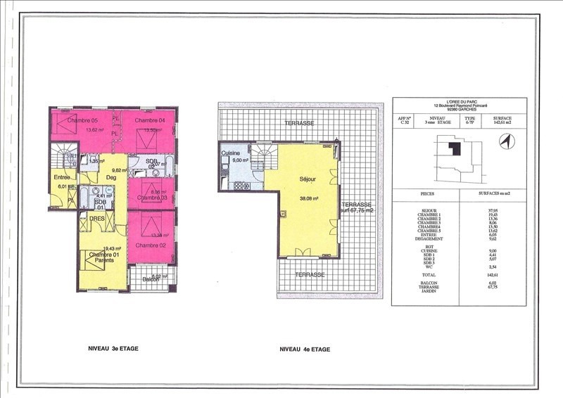 Location appartement Garches 3400€ CC - Photo 6