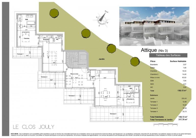 Deluxe sale apartment Annecy-le-vieux 1590000€ - Picture 4
