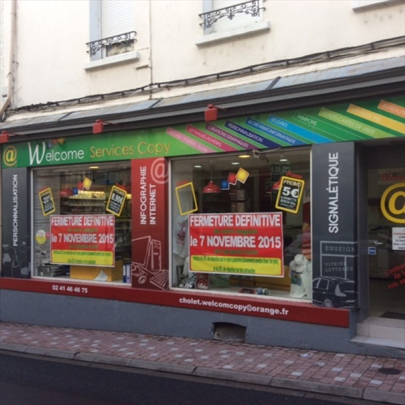 Vente local commercial Cholet 75 000€ - Photo 1