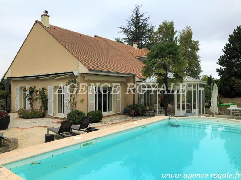 Deluxe sale house / villa Chambourcy 1365000€ - Picture 2