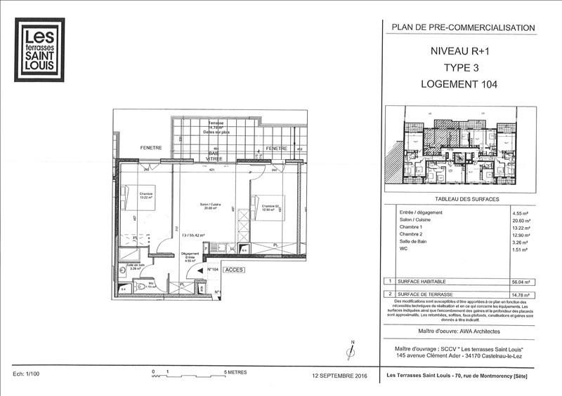 Location appartement Sete 716€ CC - Photo 2