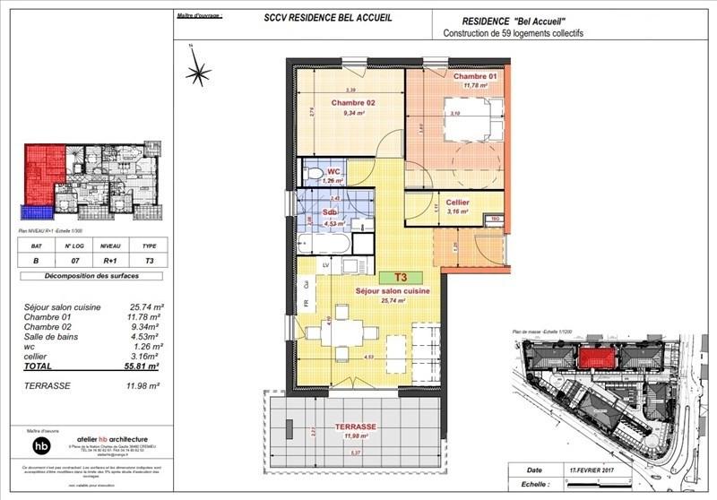 Vente appartement Bourgoin jallieu 149500€ - Photo 5