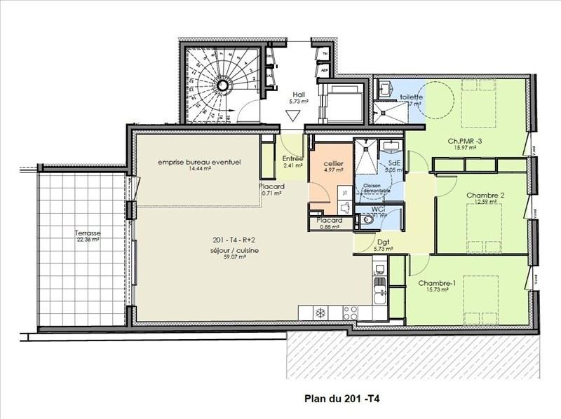 Vente appartement Niort 391861€ - Photo 4
