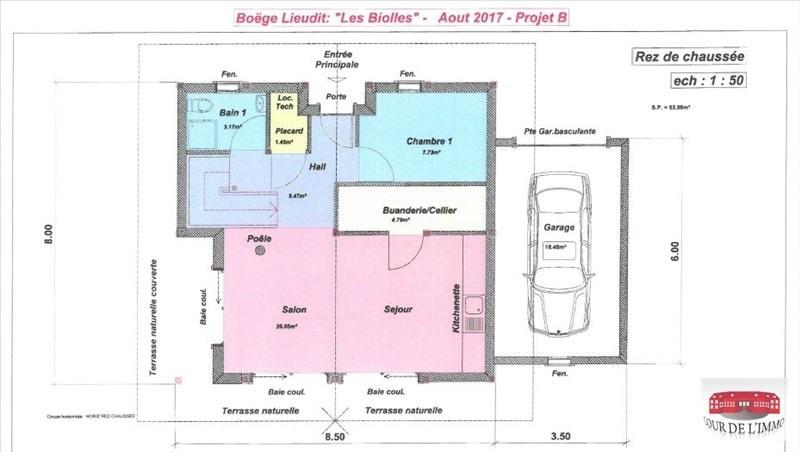 Vente maison / villa Boege 448300€ - Photo 3