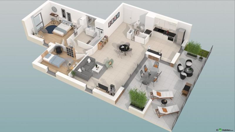 Deluxe sale apartment Caluire et cuire 574000€ - Picture 2