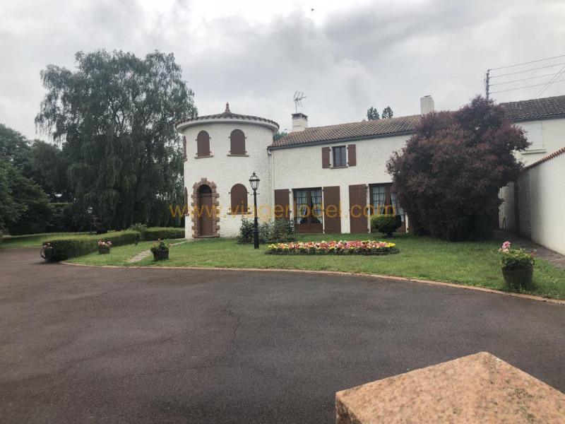 Lijfrente  huis St denis la chevasse 133600€ - Foto 1