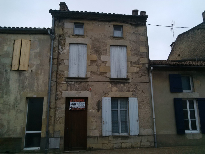 Sale house / villa Gironde sur dropt 88 000€ - Picture 1