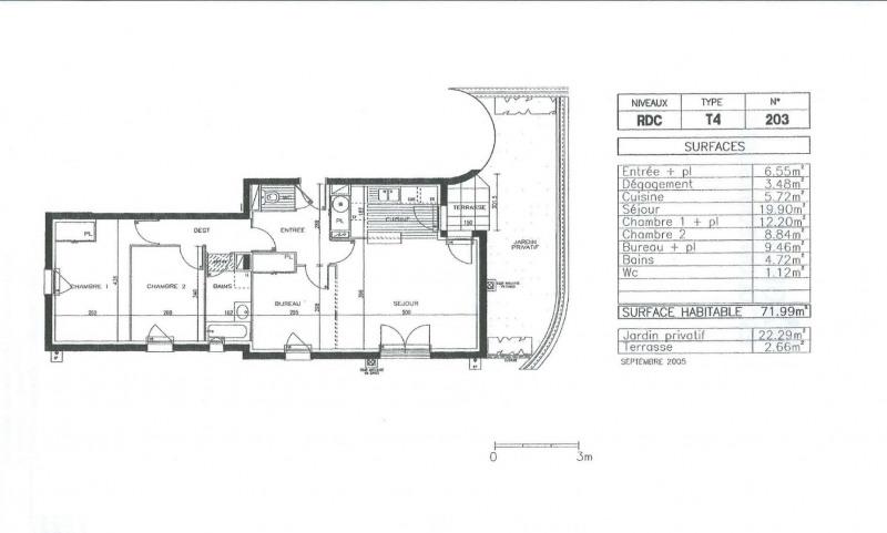 Vente appartement Tours 169000€ - Photo 19