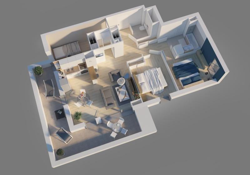 Vente appartement Bron 182700€ - Photo 5