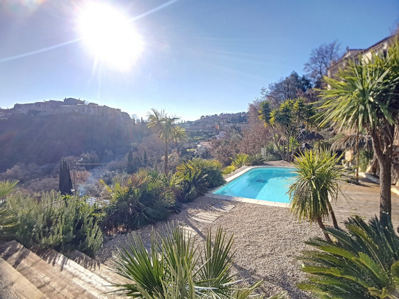 Deluxe sale house / villa Gattieres 790000€ - Picture 8
