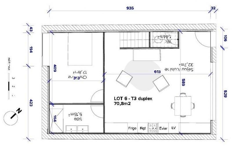 Vente appartement Bordeaux 408930€ - Photo 2