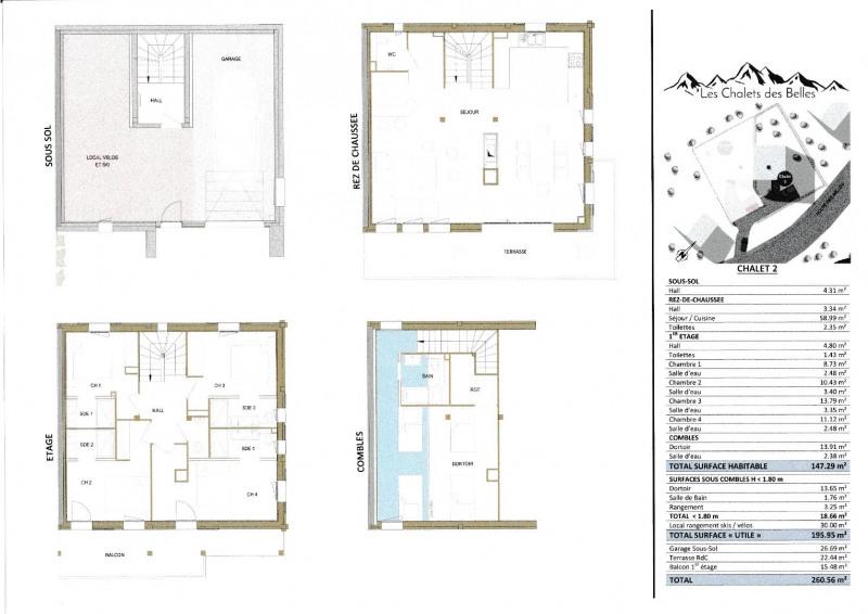 Deluxe sale house / villa Praz sur arly 1300000€ - Picture 18