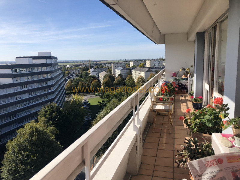 Viager appartement Caen 82 000€ - Photo 1