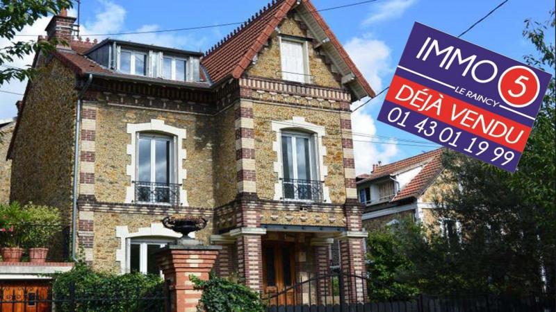 Sale house / villa Villemomble 590000€ - Picture 1