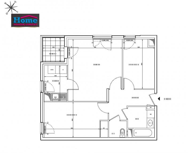 Sale apartment Rueil malmaison 395000€ - Picture 2