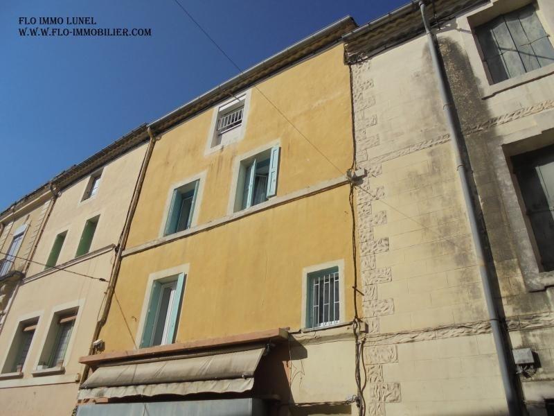 Produit d'investissement immeuble Lunel 140000€ - Photo 1