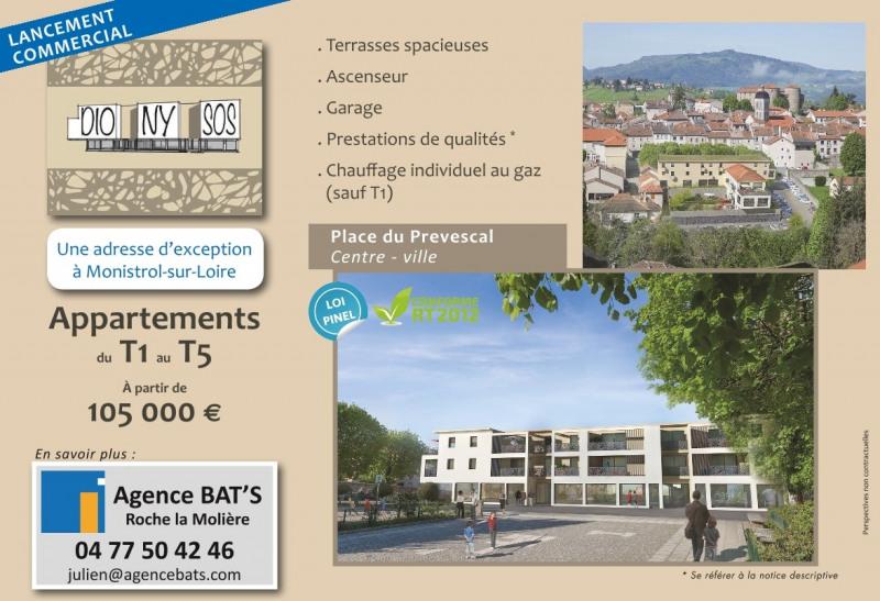 Venta  apartamento Monistrol-sur-loire 105000€ - Fotografía 3