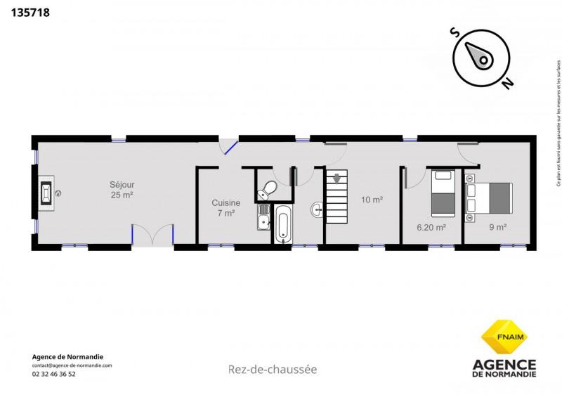Vente maison / villa Montreuil-l'argillé 130000€ - Photo 4